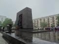 15: Mahnmal zum Gedenken an den Aufstand im Warschauer Ghetto